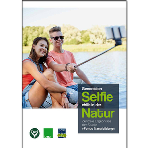 Generation Selfie chillt in der Natur